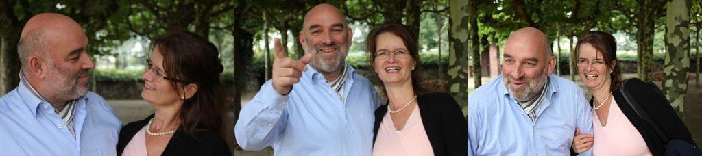 Barbara Grebe und Udo Schmitz, Coach-Paar in Essen und Köln